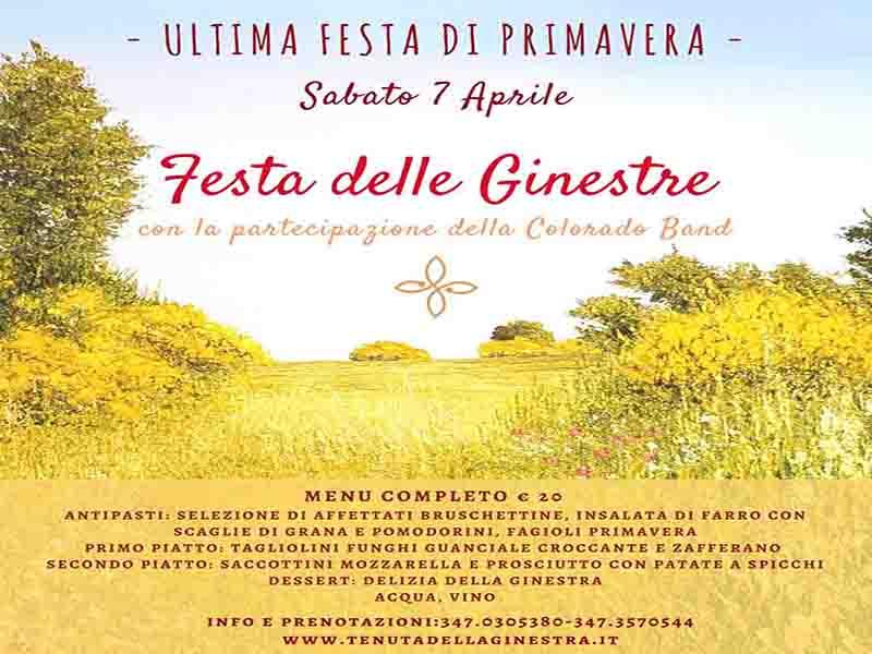 Eventi Primavera Sabina:Festa delle Ginestre