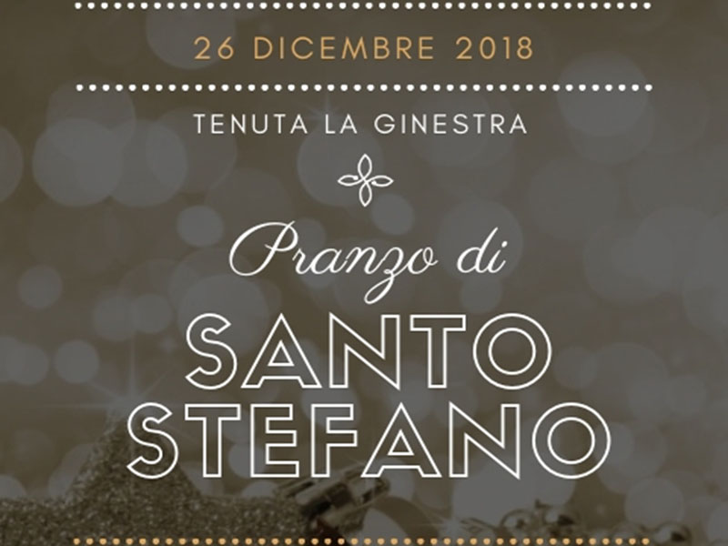 Pranzo di Santo Stefano 2018