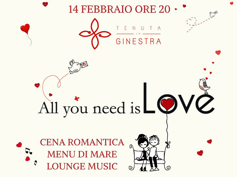 san valentino 2019 cena romantica