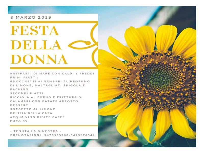 Festa Della Donna 2019 A Ornaro Rieti Ristorante Tenuta La Ginestra
