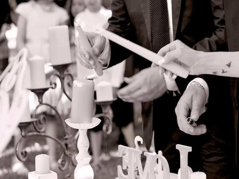 matrimonio emozionale candele
